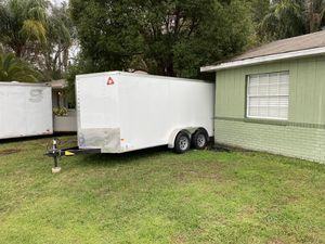 Wells Cargo Enclosed Trailer 7x16 for Sale in Orlando, FL