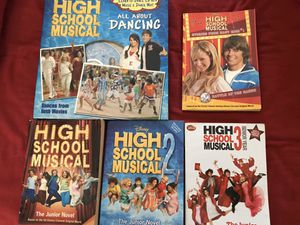 5 High School Musical Books for Sale in High Point, NC