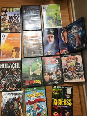 19 diferents GAME DVD good condiction All $25 for Sale in Los Angeles, CA