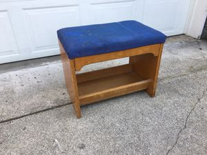 Project Bench Foot Stool for Sale in Tacoma, WA