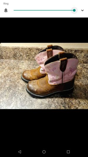 Size 3 girl boots for Sale in Tulsa, OK