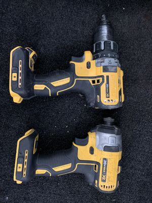 Dewalt set xr brushless 3 speeds impact and drill for Sale in Everett, WA