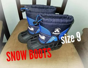 Toddler snow boots for Sale in Philadelphia, PA