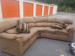Sectional couch for Sale in Forest Park, GA