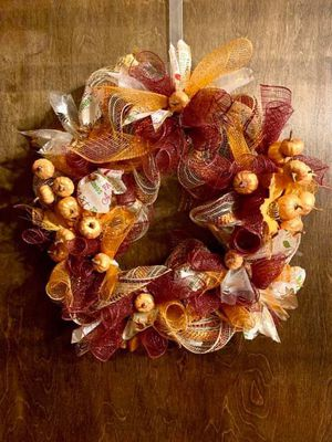 Hand made one of a kind decorative wreaths for Sale in Pequannock Township, NJ