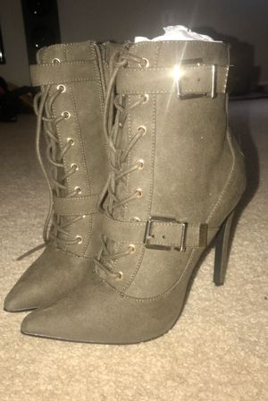 Brand New JUSTFAB women's Suede Boots! for Sale in Lewisville, TX