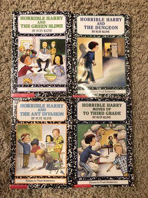 Horrible Harry Book Series - Set of 4 Paperbacks for Sale in Ashburn, VA