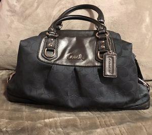 Coach Handbag ( Steele Blue/metal Grey Leather) for Sale in Sandy, UT