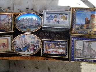 Collectible German Tin Collection - Schmidt - B31 for Sale in Green Cove Springs,  FL