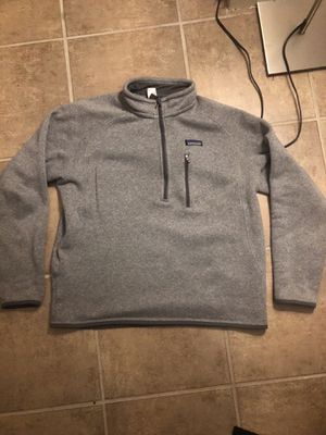 Patagonia Men's Large Grey zipup for Sale in Boston, MA