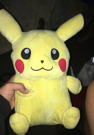 Pikachu plushie for Sale in Acampo, CA