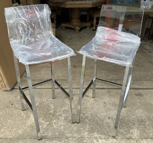 New Acrylic Bar Stools (2) for Sale in Avon, OH