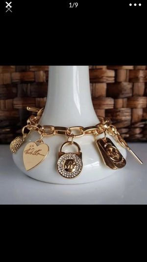 Mk Michael kors charm bracelet bangle jewelry accessory for Sale in Silver Spring, MD