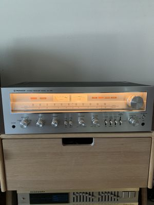 VINTAGE Pioneer receiver sx 750 amplifier for Sale in Houston, TX