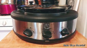 3 Dish Slow Cooker for Sale in Saint Joseph, MO