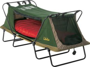 Cabellas single deluxe cot tent rain cover camping for Sale in Chandler, AZ
