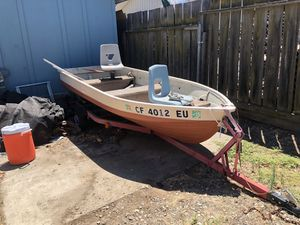 Fishing boat (NO PAPERWORK) for Sale in Oakley, CA