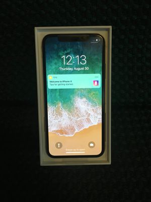 Unlocked iPhone X for Sale in Baltimore, MD