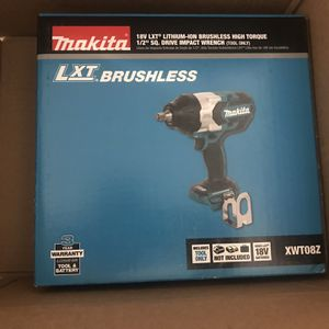 Makita XWT08Z Brushless Impact Wrench for Sale in Los Angeles, CA