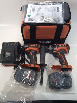 Ridged 18v Brushless hammer drill/impact combo for Sale in Tampa, FL