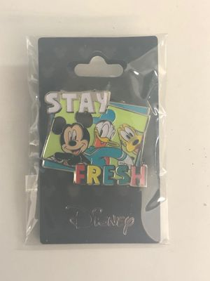 NEW! Disney Trading Pin STAY FRESH (Mickey, Donald & Pluto) for Sale in Davenport, FL