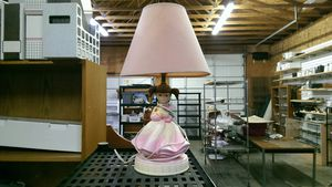 Girl lamp for Sale in Puyallup, WA