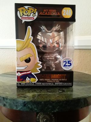 All Might Chrome Funko Pop for Sale in Montclair, CA
