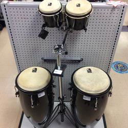 Set Of 4 Toca Drums With Stand for Sale in Kenmore,  WA