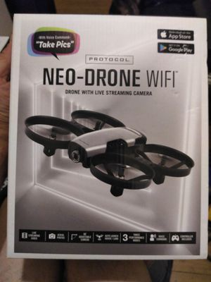 PROTOCOL NEO-DRONE WIFI DRONE WITH LIVE STREAMING CAMERA/VIDEO for Sale in New York, NY