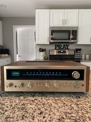 Pioneer sx-626 receiver with rare champagne face for Sale in Longwood, FL