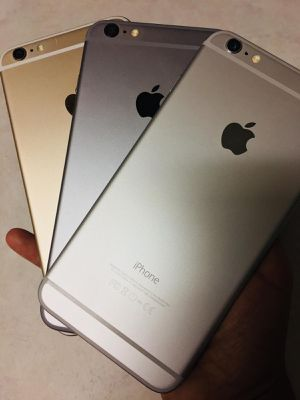 Factory unlocked iPhone 6 Plus for any carrier for Sale in Plano, TX