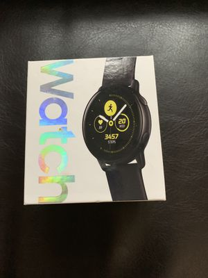 Samsung galaxy active watch black for Sale in East Haven, CT