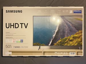 BRAND NEW Samsung 7 Series 50 inch UHD Smart TV - RU7200 for Sale in Tunkhannock, PA