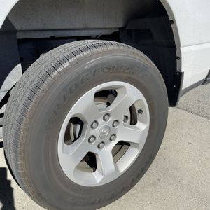 Bridgestone Dueler- Rims & Tires - Set Of 4 for Sale in Salinas, CA