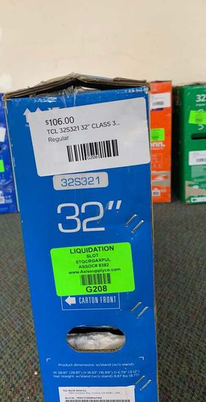 "New TCL 32"" TV open box w/ warranty SWI6 for Sale in Plano, TX"