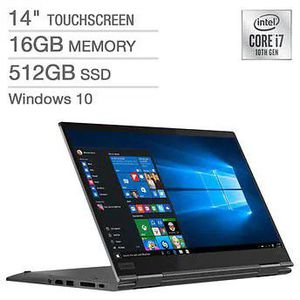 Lenovo ThinkPad X1 Yoga 2-in-1 Laptop Touchscreen for Sale in South Brunswick Township, NJ