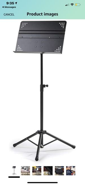 Hola! HM-MS+ Professional Folding Orchestra Sheet Music Stand for Sale in Huntington Beach, CA