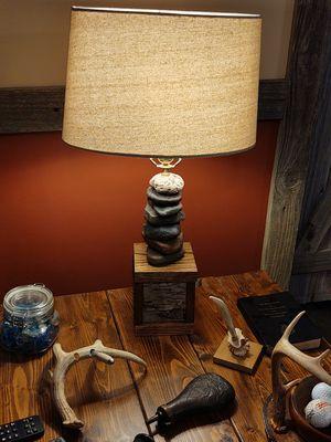 Custom stone lamp for Sale in Kansas City, MO