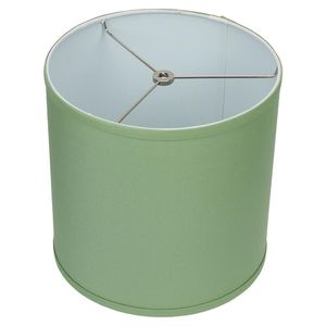 {url removed} 10.5 in. W x 10.5 in. H Celadon/Nickel Hardware Drum Lamp Shade for Sale in Dallas, TX