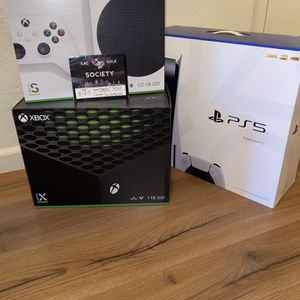 Xbox series X / S and PS5 for Sale in Sacramento, CA