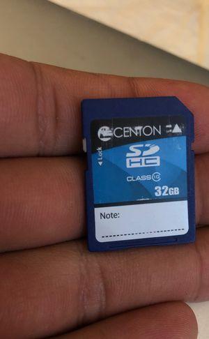 32gb sd card for Sale in Santa Monica, CA