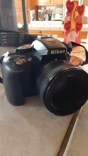 NIKON D5300 + lenses for Sale in Hesperia, CA