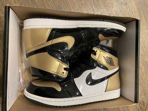 Gold Toe Jordan 1's Size 8 for Sale in San Leandro, CA