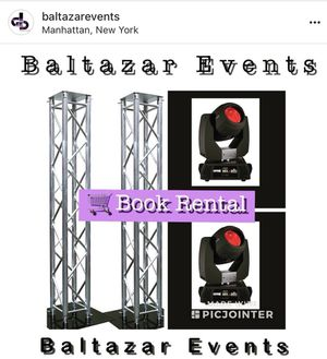 Lighting rental and dj equipment for Sale in New York, NY