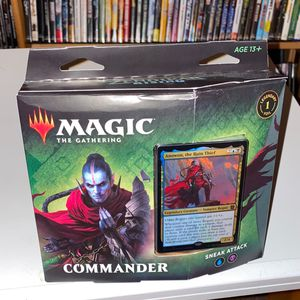 Magic The Gathering Commander Sneak Attack Sealed Christmas Present for Sale in Roseville, CA