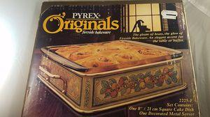 vintage 1980s Pyrex Originals Fireside Bakeware for Sale in Moreno Valley, CA