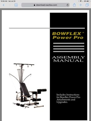 Bowflex Home Gym for Sale in Pittsburgh, PA