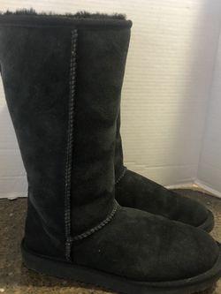 Women's Black Ugg Like Boots Size 6 for Sale in Manassas,  VA