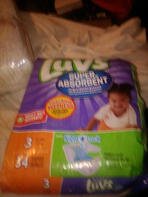 Luvs diapers size 3 never opened $10 or willing to trade for premiee or newborn diapers for Sale in Avon Park, FL