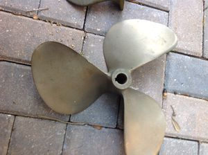 "Brass prop 13"" by 13"" 1"" shaft $75 for Sale in Tampa, FL"